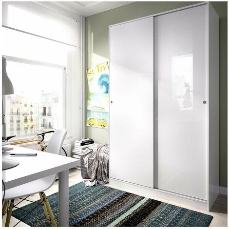 Armario ropero puertas correderas Plus Slide 120 cm de ancho