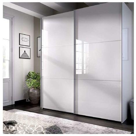Armario ropero puertas correderas Slide 150 cm de ancho