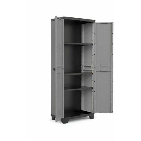 Armario Stilo alto - 3 baldas Keter 173x68x39cm