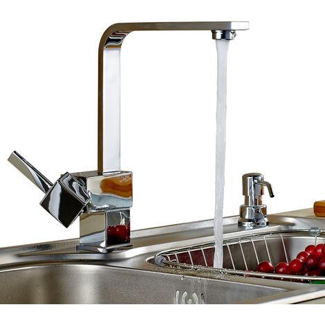 Armatur Einhebel Wasserhahn Waschtischarmatur Wasserfall Waschbecken Bad Küche