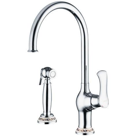 Armatur Wasserhahn Spültisch Mischbatterie Badewanne Dusche Waschbecken Auswahl Sanlingo
