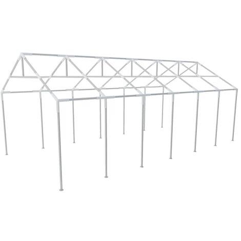 "main image of ""Armature Metallique Tonnelle de Jardin 12 x 6 m"""
