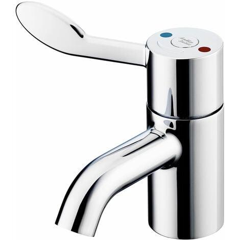 Armitage Shanks Contour 21 Plus Thermostatic Basin Mixer Tap with Flexible Tails - Chrome