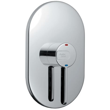 Armitage Shanks Contour 21 Thermostatic Concealed Shower Mixer Valve Lever Operated - Chrome