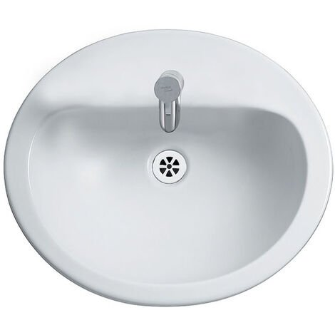 Armitage Shanks Orbit 21 Countertop Basin without Overflow 550mm Wide - 1 Tap Hole