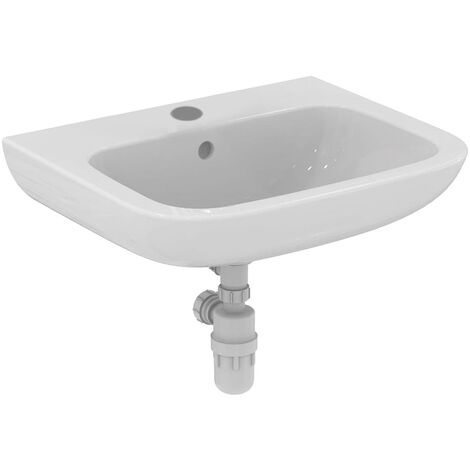 Armitage Shanks Portman 21 Wall Hung Basin with Overflow 600mm Wide - 1 Tap Hole