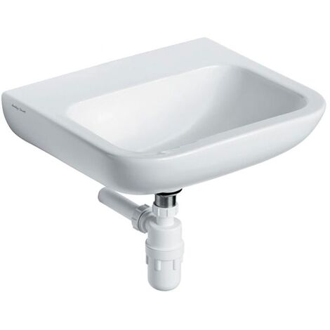 Armitage Shanks Portman 21 Wall Hung Cloakroom Basin No Overflow 400mm Wide - 0 Tap Hole