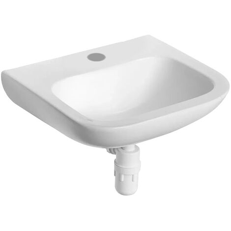 Armitage Shanks Portman 21 Wall Hung Cloakroom Basin No Overflow 500mm Wide - 1 Tap Hole