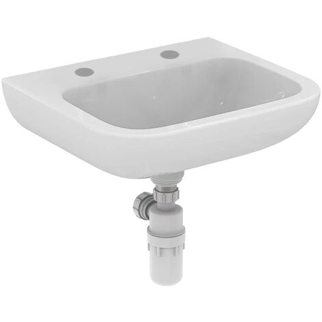 Armitage Shanks Portman 21 Wall Hung Cloakroom Basin No Overflow 500mm Wide - 2 Tap Hole
