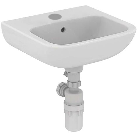 Armitage Shanks Portman 21 Wall Hung Cloakroom Basin with Overflow 400mm Wide - 1 Tap Hole