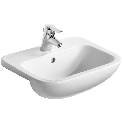 Armitage Shanks Profile 21 Semi Countertop Basin with Overflow 500mm Wide - 1 Tap Hole