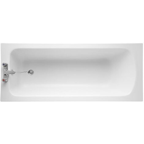 Armitage Shanks Sandringham 21 1600mm x 700mm Bath without Handgrips - 2 Tap Hole