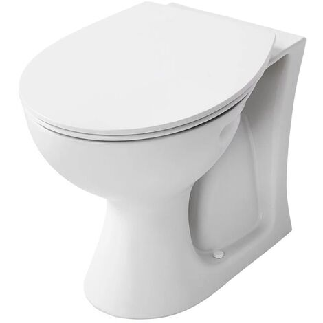 Armitage Shanks Sandringham 21 Back to Wall Toilet WC 530mm Projection - Standard Seat