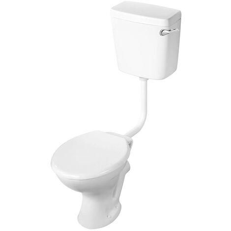 Armitage Shanks Sandringham 21 Low Level Toilet WC Bottom Inlet Cistern - Standard Seat