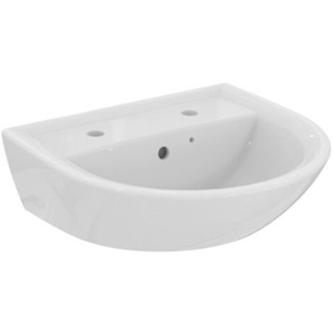 Armitage Shanks Sandringham 21 Wall Hung Basin 500mm Wide 2 Tap Hole