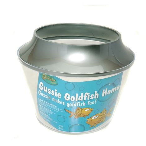 Armitages Pet Products Gussie Goldfish Bowl (One Size) (Silver)