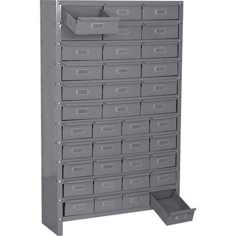 Armoire à grands et petits tiroirs (plusieurs tailles disponibles)