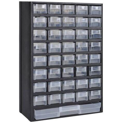 Armoire à outils avec 41 tiroirs Plastique
