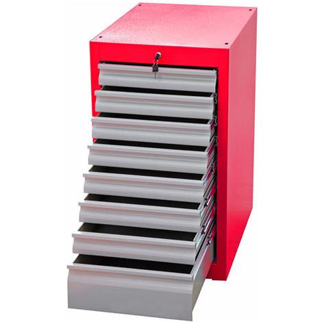 Armoire à outils RS PRO 2 portes en Plastique verrouillable à poser au sol, 780 x 430 x 2250mm