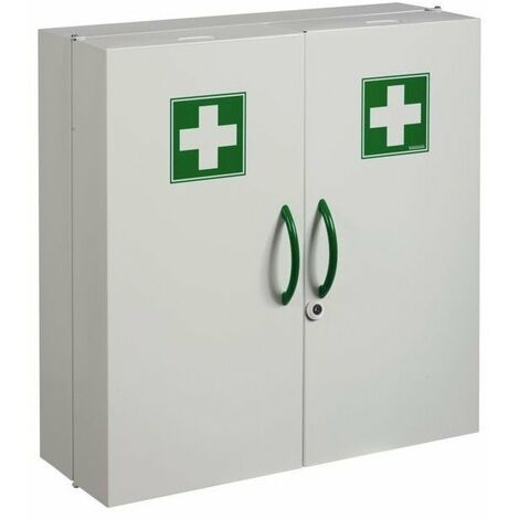 Armoire a pharmacie 1 porte blanche
