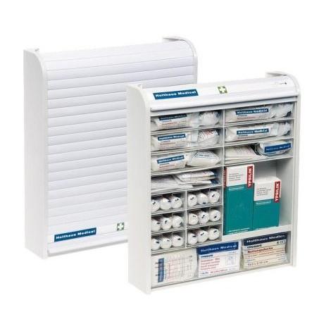 Armoire à pharmacie avec pansements ,DIN 13157