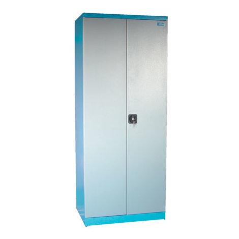 Armoire d´atelier 2 portes - 4 étagères 1920 x 780 x 580 mm