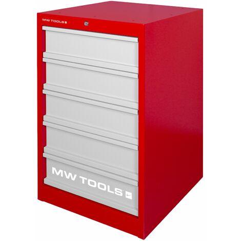 Armoire d'atelier à 5 tiroirs MW-Tools DELK5