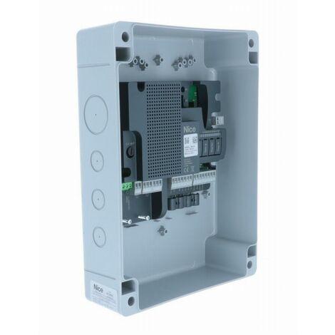 Armoire de commande NICE pour 2 moteurs 220V - MC800