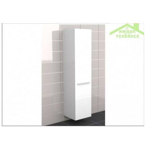 Armoire de douche à 1 porte gauche RIHO BOLOGNA 40x40 H 171,5 cm