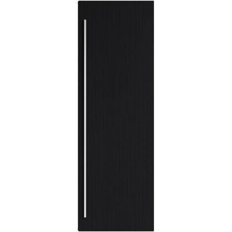 Armoire de rangement de Garcia Hauteur 120 cm Blanc brillant - Meuble de rangement haut placard armoire colonne