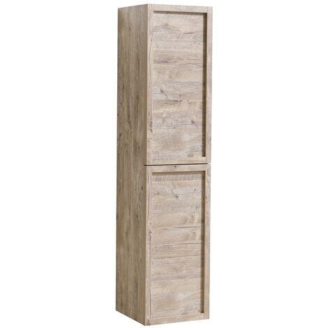 Armoire de rangement de Vermont Hauteur 172 cm Nature wood - Meuble de rangement haut placard armoire colonne