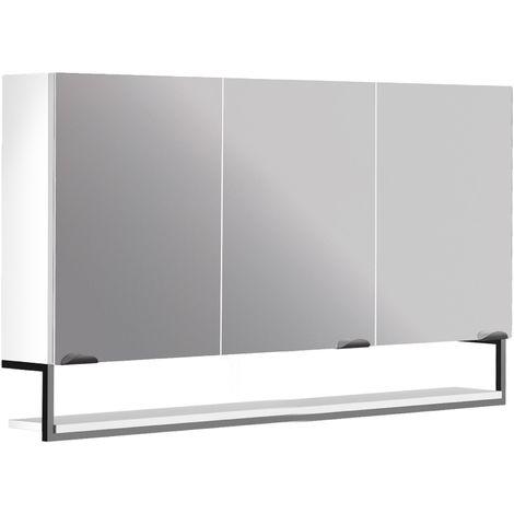 Armoire de rangement miroir salle de bain FAKTORY