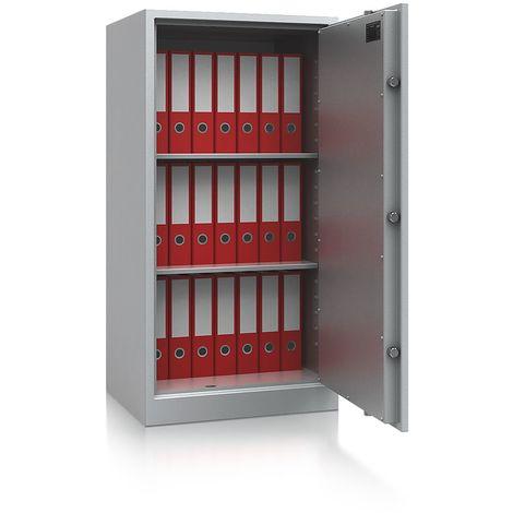 Armoire de sécurité - classe de sécurité S1 - h x l x p 1226 x 650 x 500 mm - gris clair RAL 7035