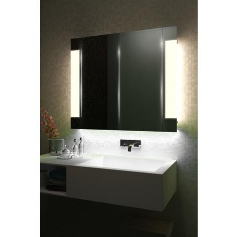 Armoire De Toilette Anti-Buée Avec Capteur Et Prise Rasoir Interne k1506iW - Couleur LED : White