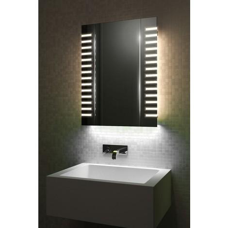 Armoire De Toilette Anti-Buée Avec Capteur Et Prise Rasoir Interne k1603iW  - Couleur LED : White