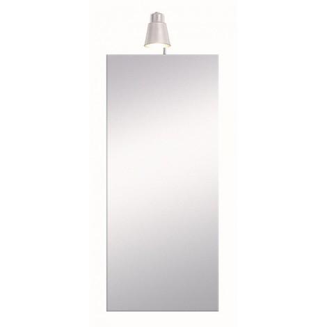 armoire de toilette avec clairage fluocompacte 80 cm x. Black Bedroom Furniture Sets. Home Design Ideas