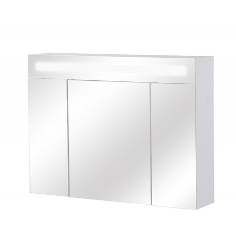 Armoire de toilette avec éclairage Fluorescent - 60 cm x 80 cm (HxL)