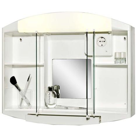Armoire de toilette Blanc.59x 49 x15,5cm