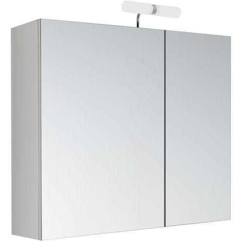 Armoire de toilette éclairante 60 cm KLE'O