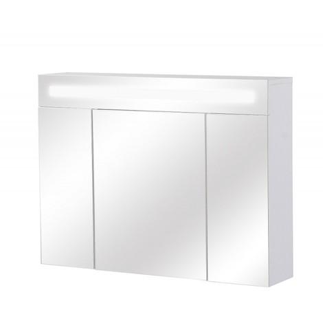 Armoire De Toilette Avec Eclairage Fluorescent 60 Cm X 80 Cm Hxl