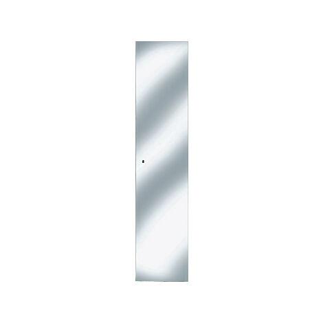 Armoire de toilette Keuco Royal 30 05610, 1 porte pivotante, miroir latéral, profondeur 143mm - 05610171000