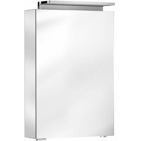Armoire de toilette Keuco Royal L1 13601, 1 porte pivotante, à charnière à droite, 500mm, avec un tiroir intérieur - 13601171102