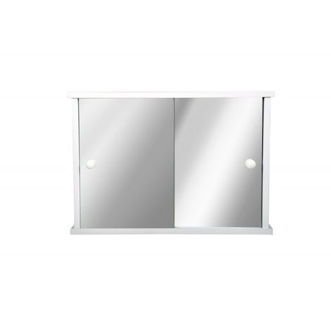 Armoire de toilette - Le Vintage - 37,5 cm x 53 cm (HxL) - Blanc