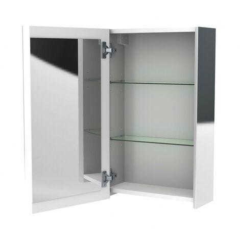 Armoire de toilette miroir Oslo 40 cm Allibert