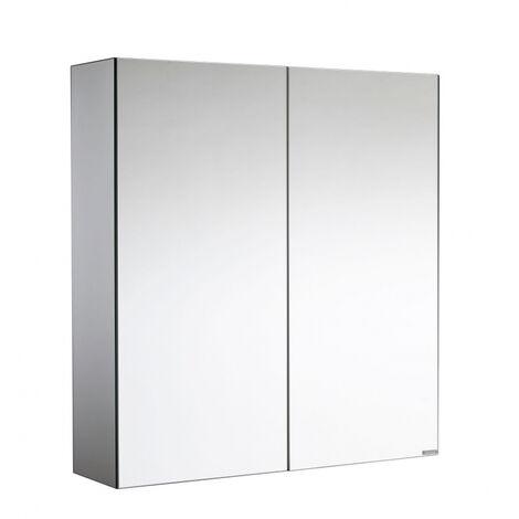 Armoire de toilette miroir Oslo 60 cm - 2 portes Allibert