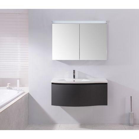 Armoire de toilette Multy BS100 avec LED - 100cm