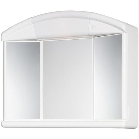 Armoire de toilette Naty - Blanc