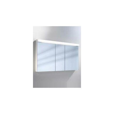 Armoire de toilette Schneider LOWLine 130 / 3 / FL 151.130, Exécution: CH standard sans poignées - 151.130.01.02
