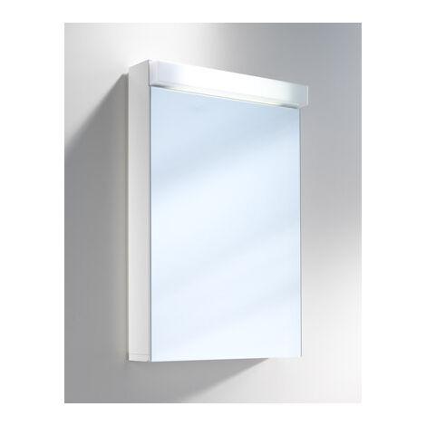 Armoire de toilette Schneider LOWLine 50 / 1 / LED 151.250, Exécution: Norme UE sans poignées - 151.250.02.02