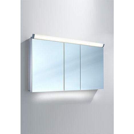 Armoire de toilette Schneider PALILine 130 / 3 / LED 159.130, Exécution: Norme UE avec poignées - 159.130.02.50